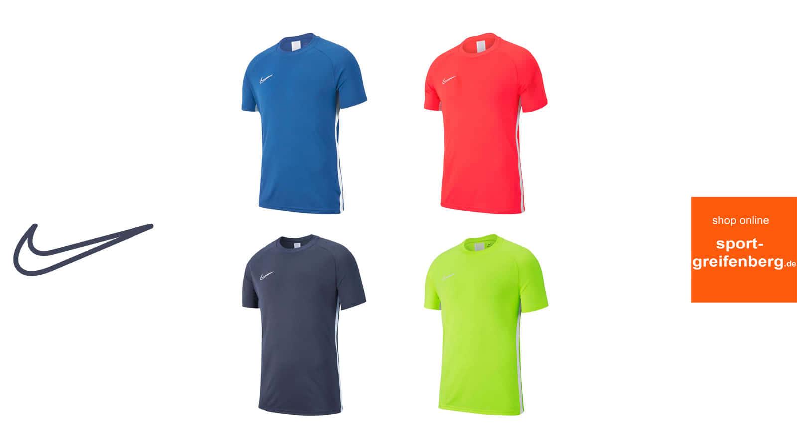 Das sind die Nike Academy 19 Farben für die Sportbekleidung