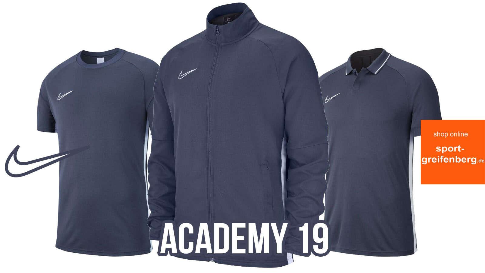 Die Nike Academy 19 Teamsport Linie