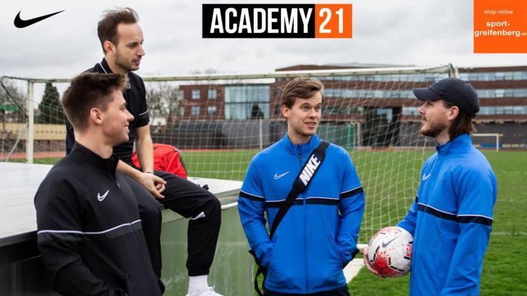 die Nike Academy 21 Sportbekleidung für 2021 und 2022