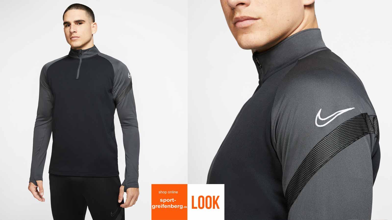 Das Nike Academy Pro Training Outfit mit Midlayer und Training Pant