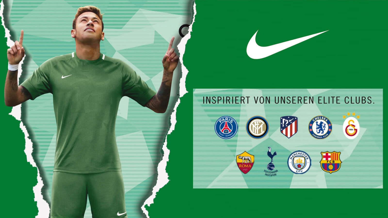 Die Nike Trikots 2018/2019 Profi Vereine