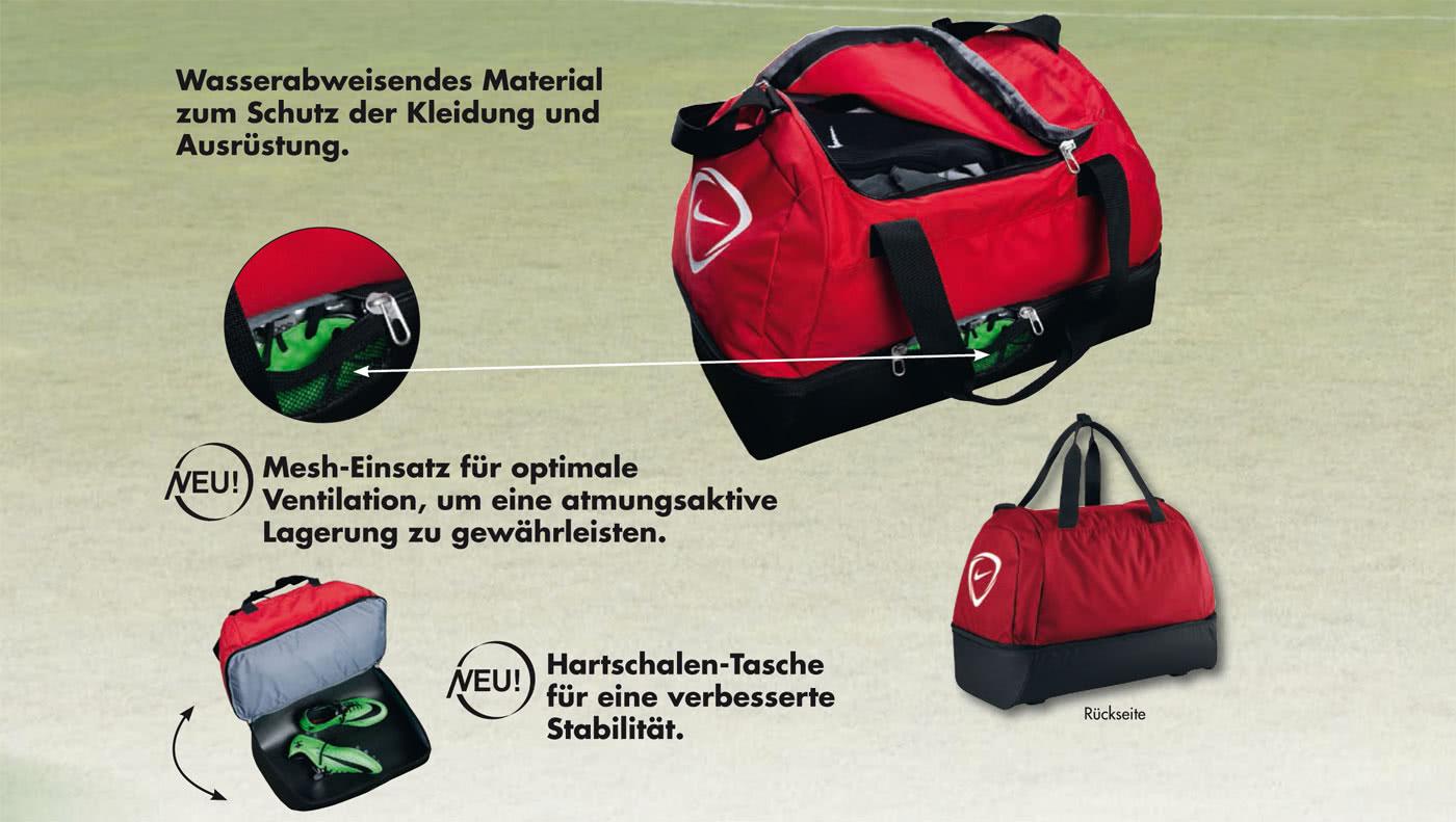 Nike Sporttaschen mit Bodenfach als Fußballtaschen