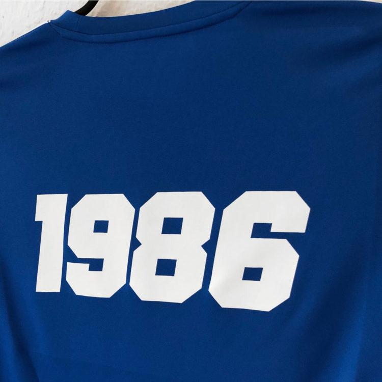 Das Nike Jersey kommt mit Druck der Jahreszahl auf dem Rücken