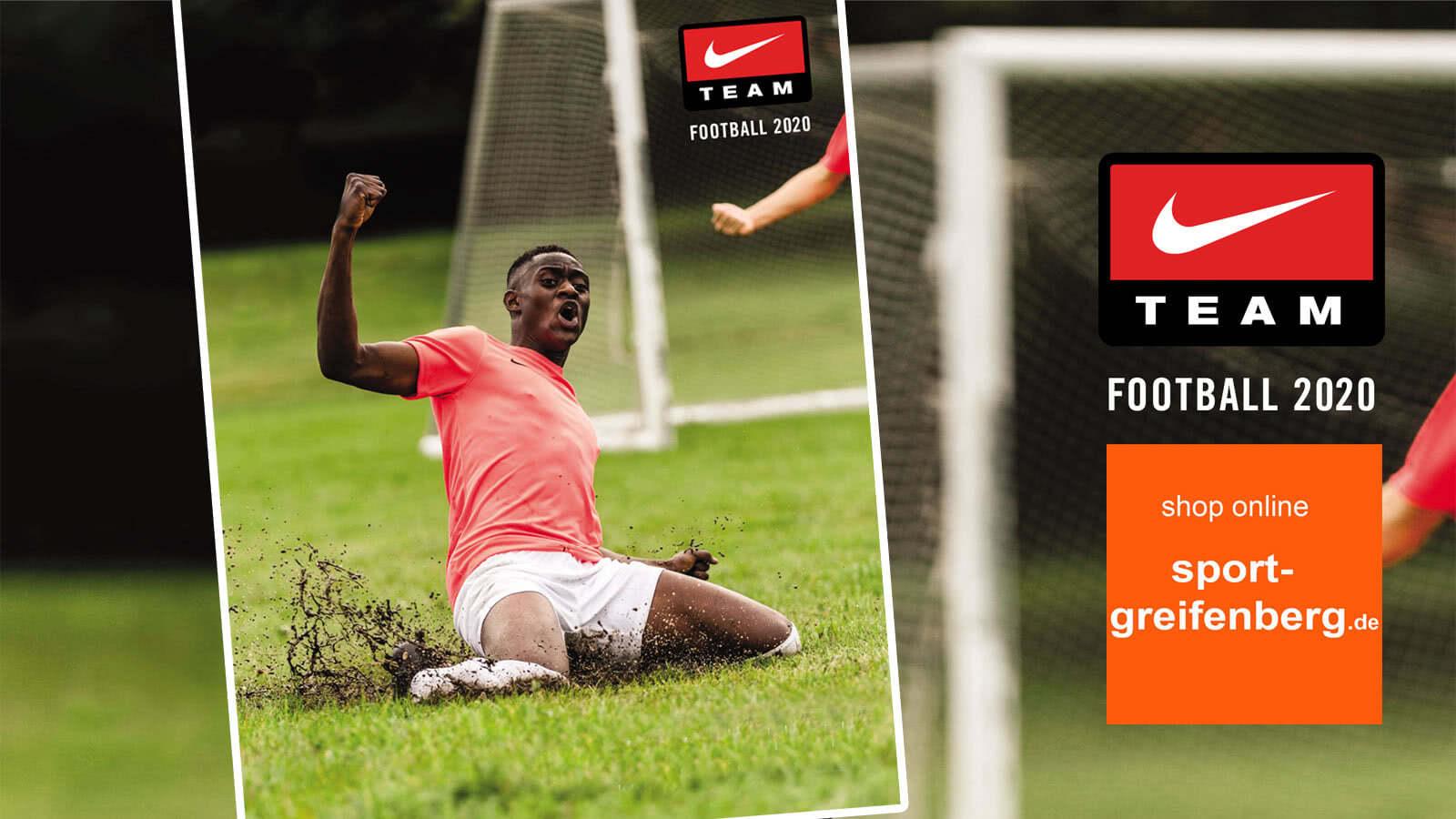 Der Nike Katalog 2020/2021 für Fußball und Teamsport