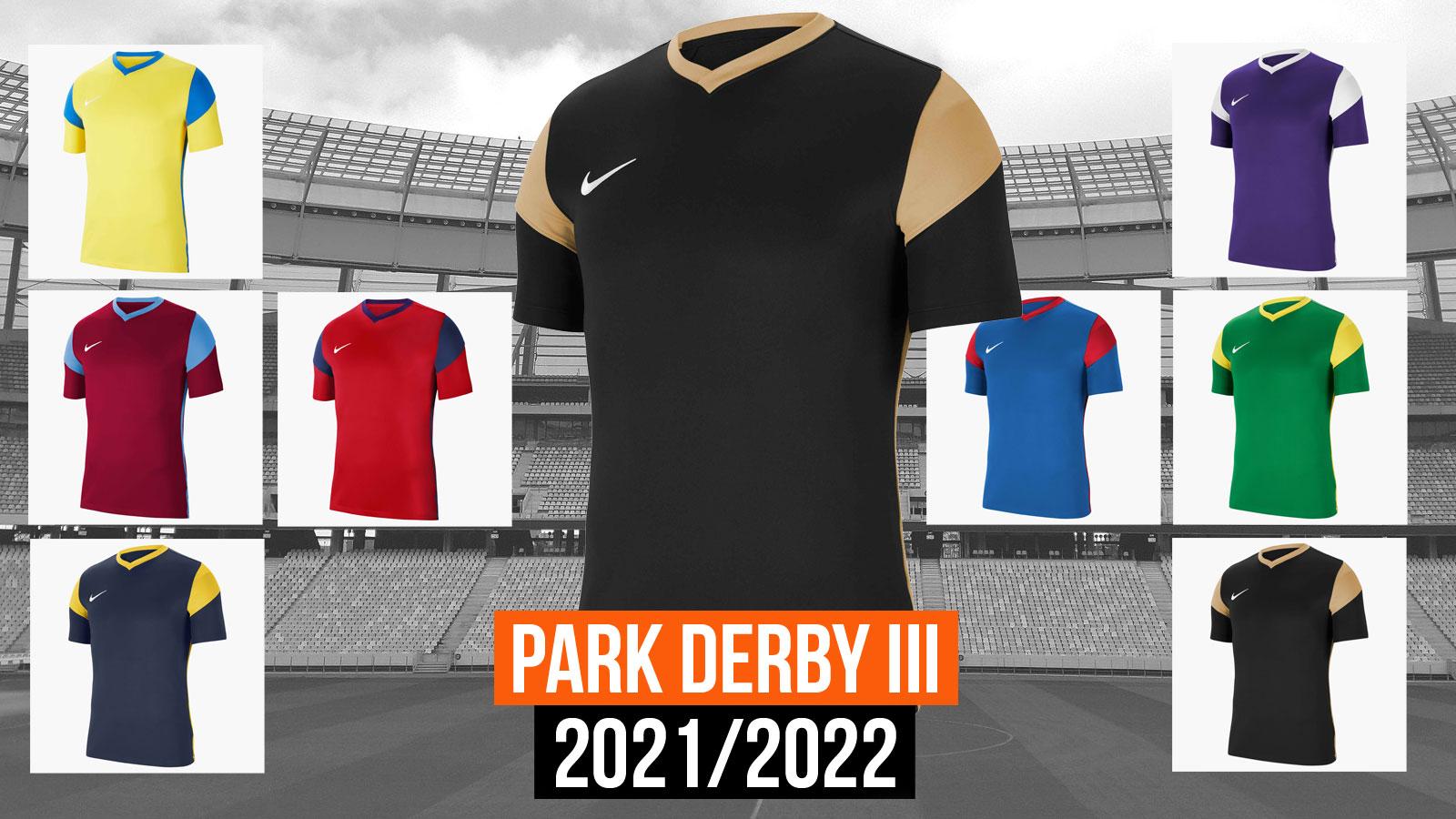 Das Nike Park Derby III Trikot für die Jahre 2021/2022/2022