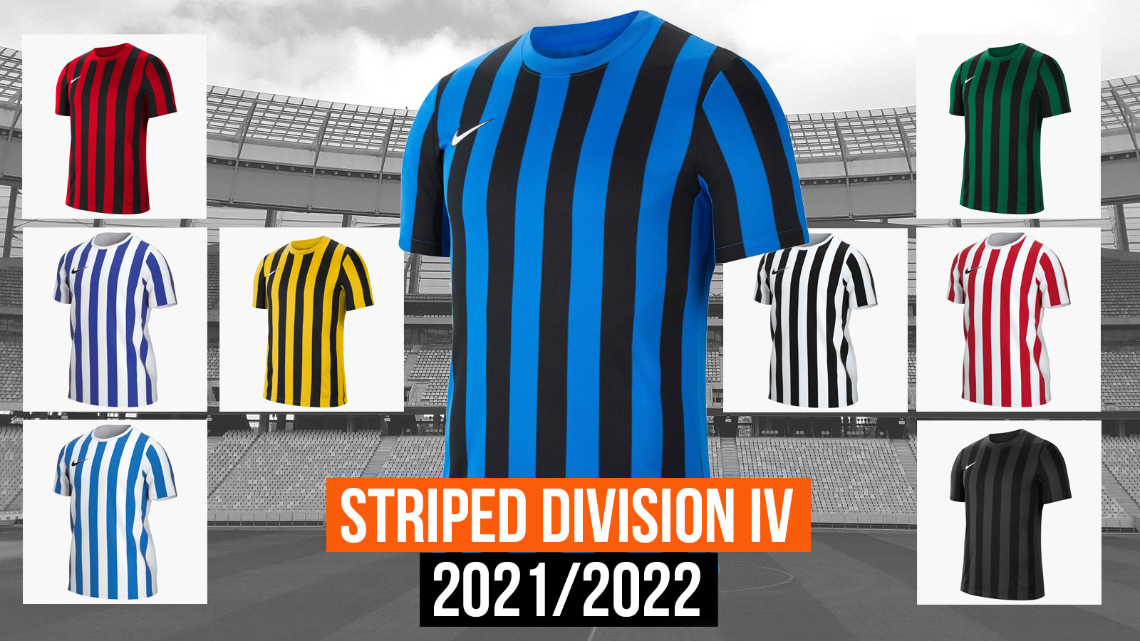 Das Nike Striped Division IV Trikot für 2021/2022/2023