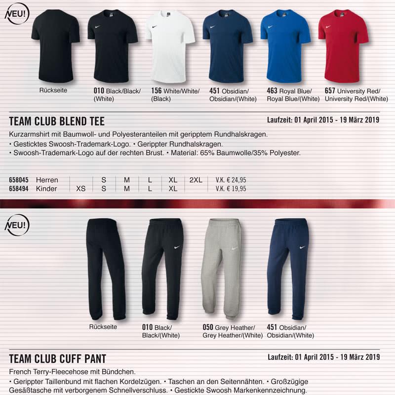 Nike Team Club Sportswear und Lifestlye Sportartikel und