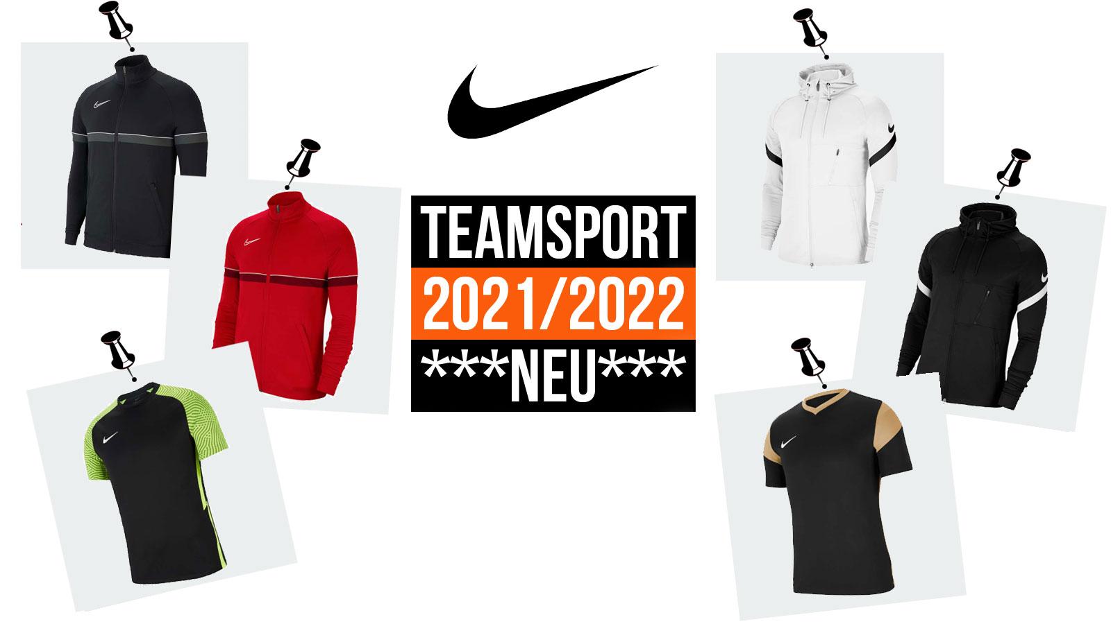 Nike Teamsport 2021/2022 mit Strike 21 und Academy 21