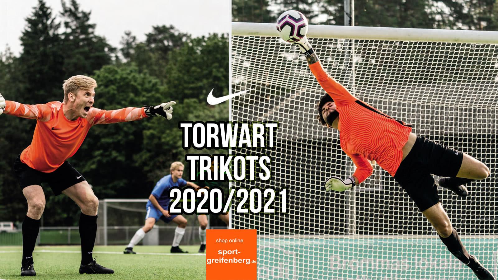 Die Nike Torwart Trikots 2020/2021 mit dem Gardien III und dem Park VII Jersey