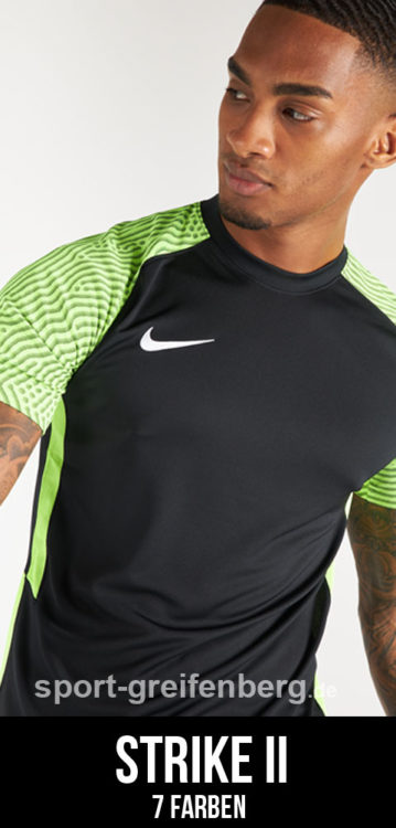 das Nike Strike II Jersey als eines der Nike Trikots 2021/2022