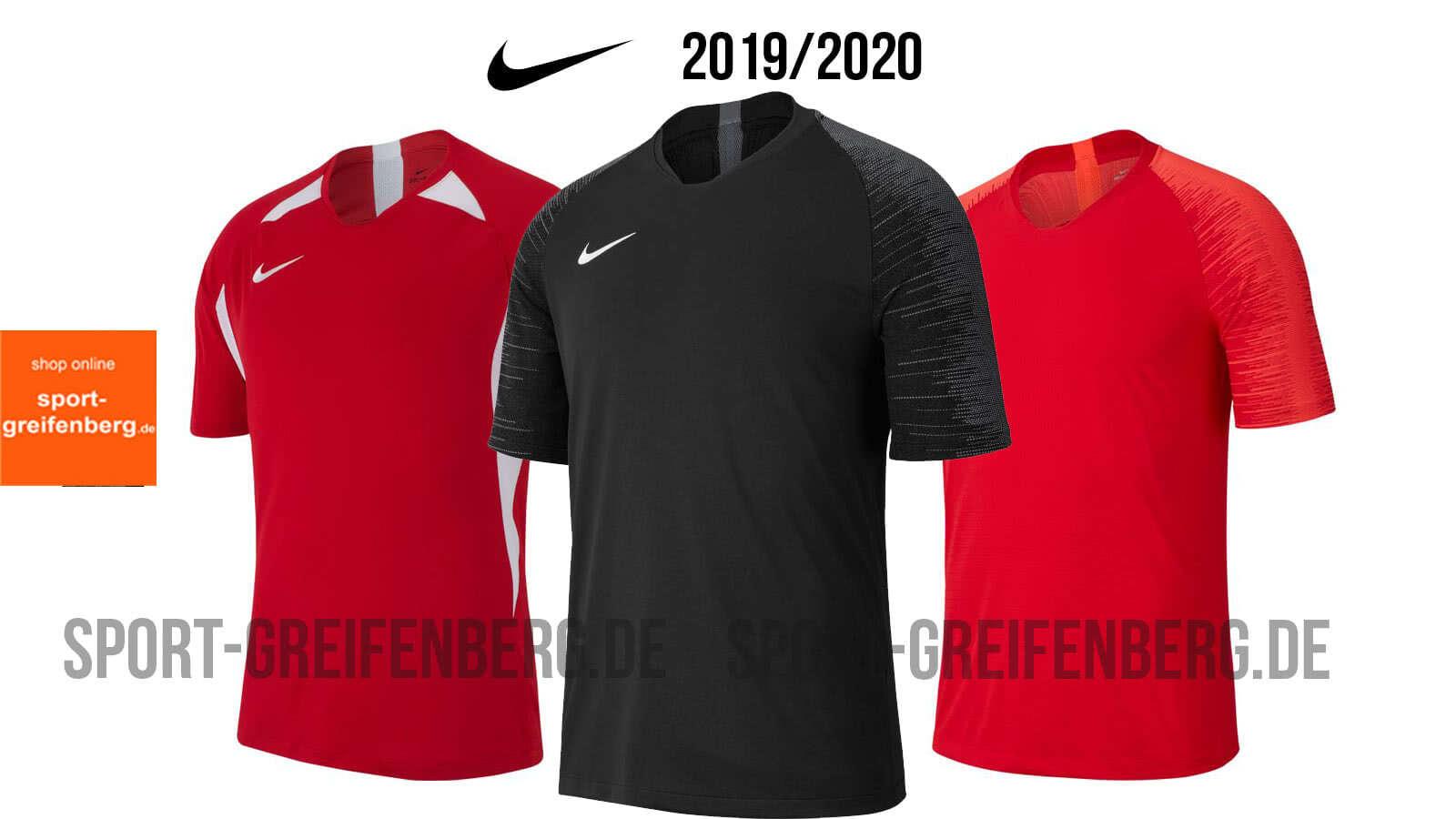 Die Nike Trikots 2019/2020 Legend, Vapor und Striker