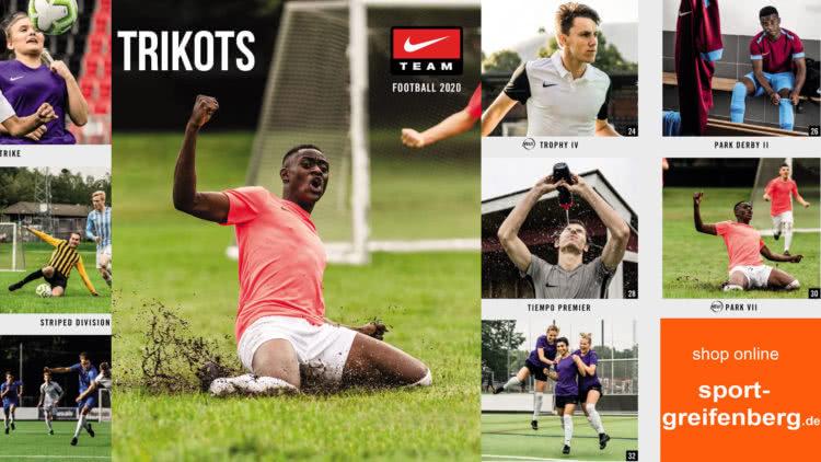 Die neuen Nike Trikots für 2020/2021