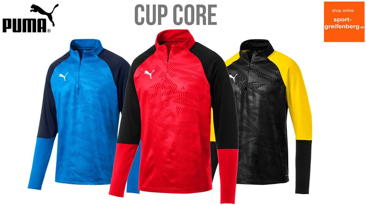 Die Puma Cup Core Teamsport Linie für 2019 2020 und 2021