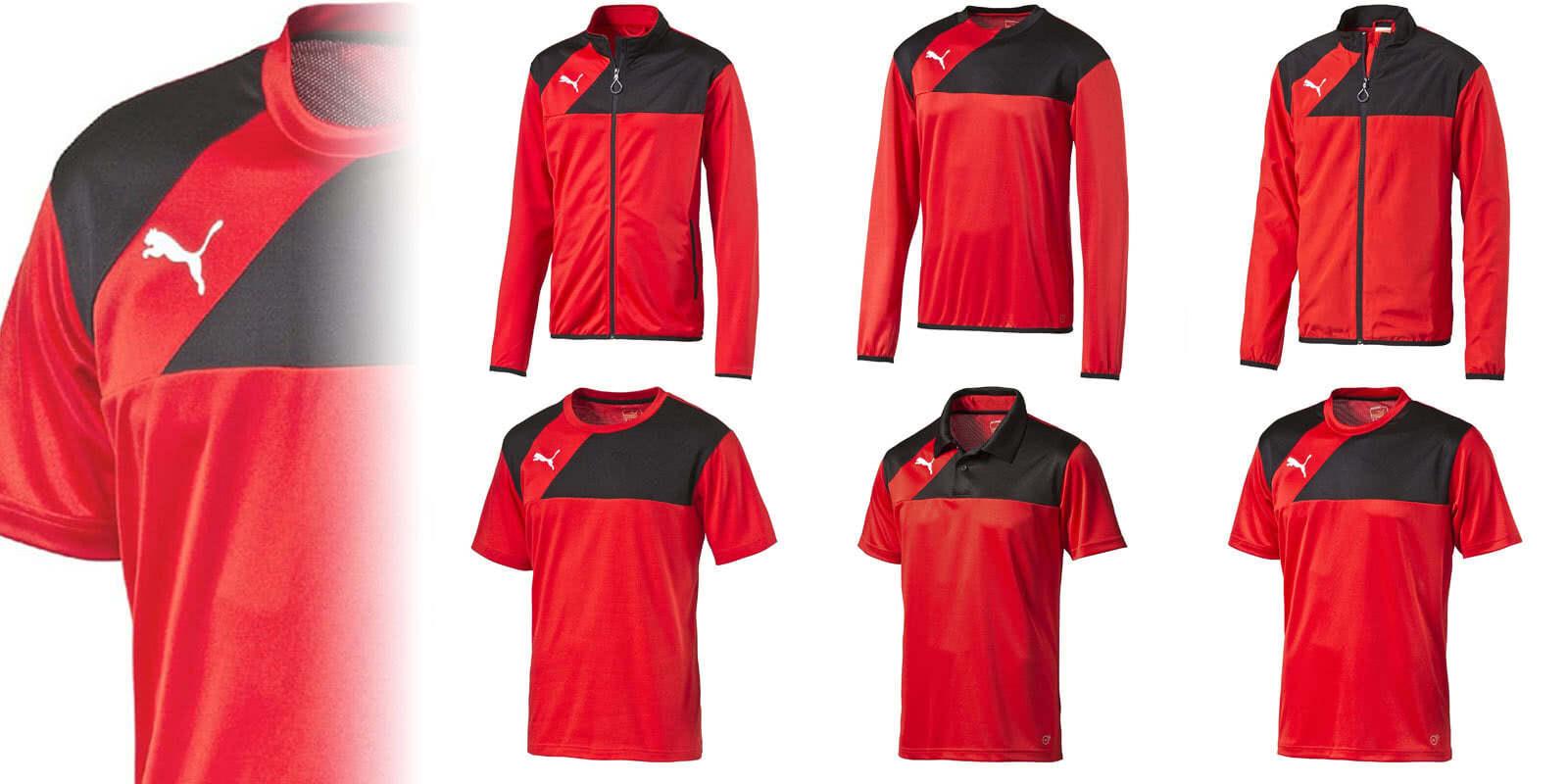 728a000c3c84a Die Die Puma Esquadra Sportbekleidung der Teamline für die Jahre  2015-2016-2017