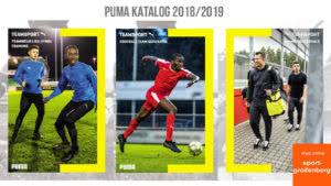 Der Puma Katalog 2018/2019 für den Fußball und Teamsport