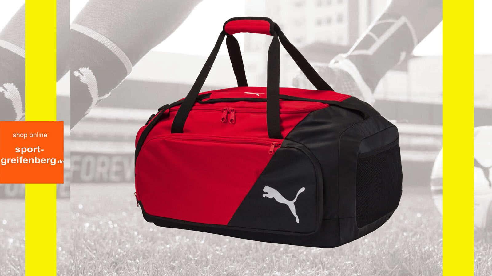 Die Puma Katalog 2018/2019 Taschen mit der Football Teambag
