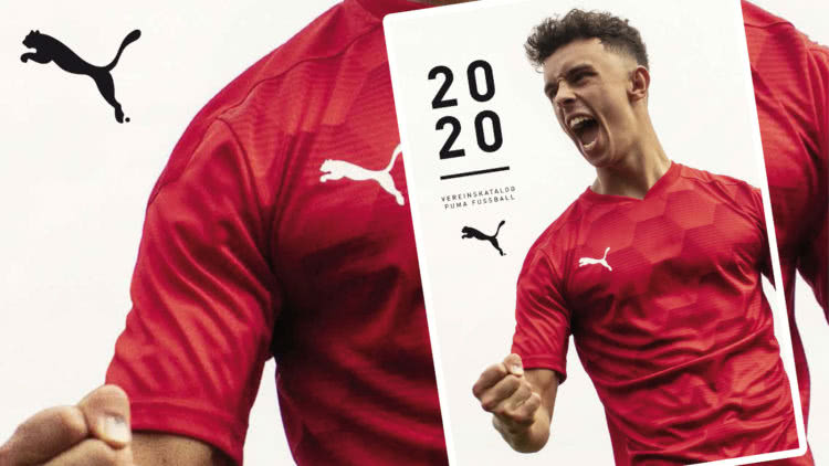 der Puma Katalog 2020/2021 für Fußball, Handball und den Teamsport