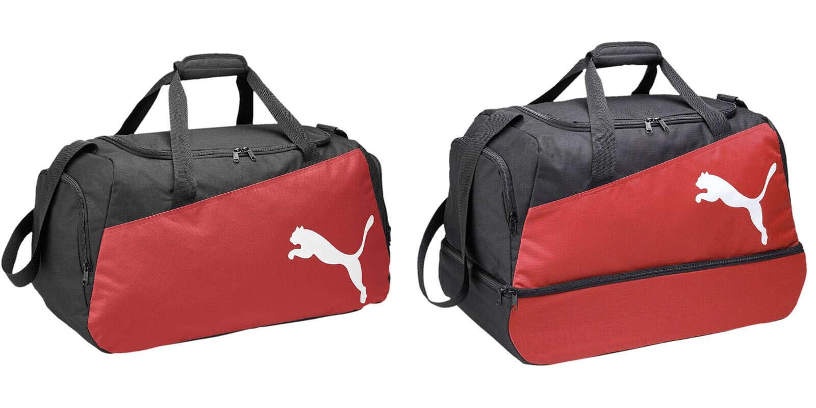 b98df2805e915 Die Puma Pro Sporttaschen mit der Sporttasche mit Bodenfach und der  normalen Sporttasche