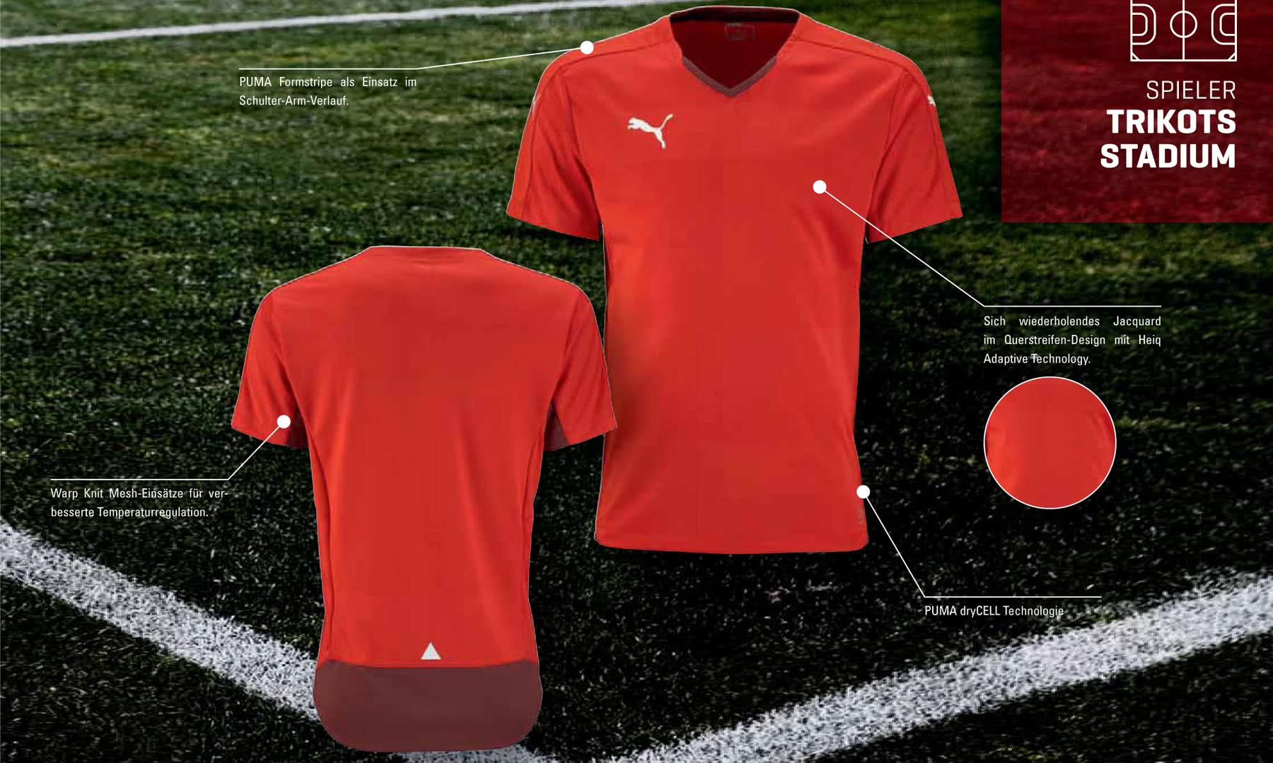 huge selection of 234b4 c97cb Puma Stadium Trikot - Profi Trikot 2015/2016 - Sportartikel ...