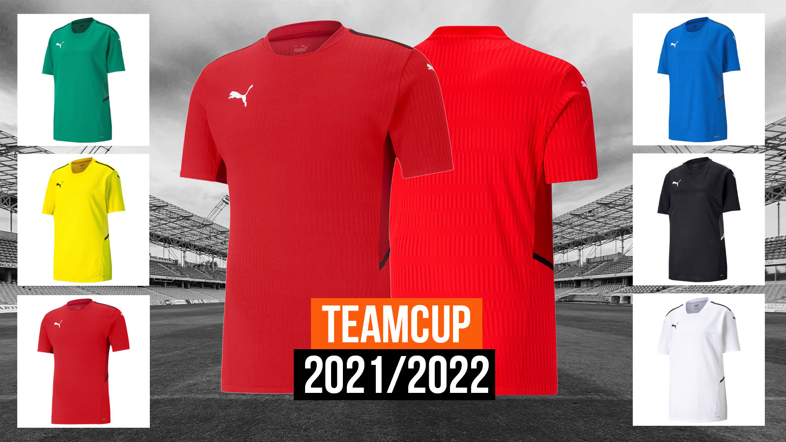 Das Puma teamCup Jersey als Top Trikot für 2021/2022