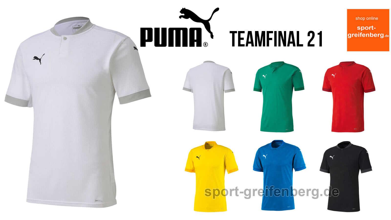 Das puma teamfinal 21 Jersey als Trikot der Profis von der EM