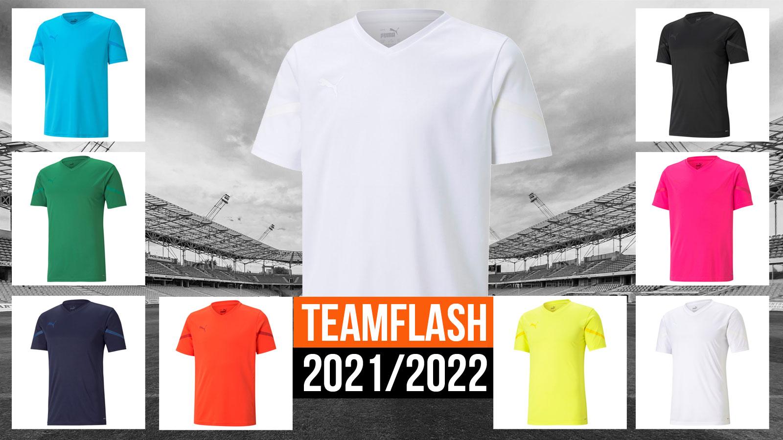 das Puma teamFlash Trikot 2021/2022 für Trikotsätze