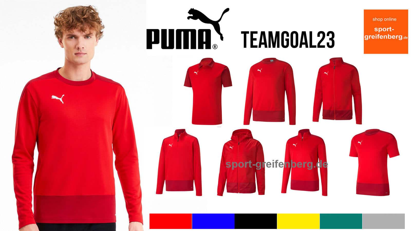 Die Puma teamGoal 23 Line gibt es im Katalog von 2020 bis 2023
