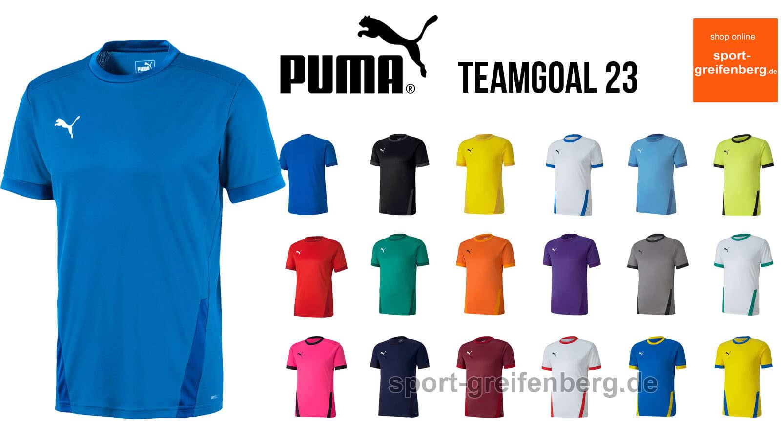 Das puma teamgoal 23 trikot als Teamsport Jersey für 2020 bis 2023