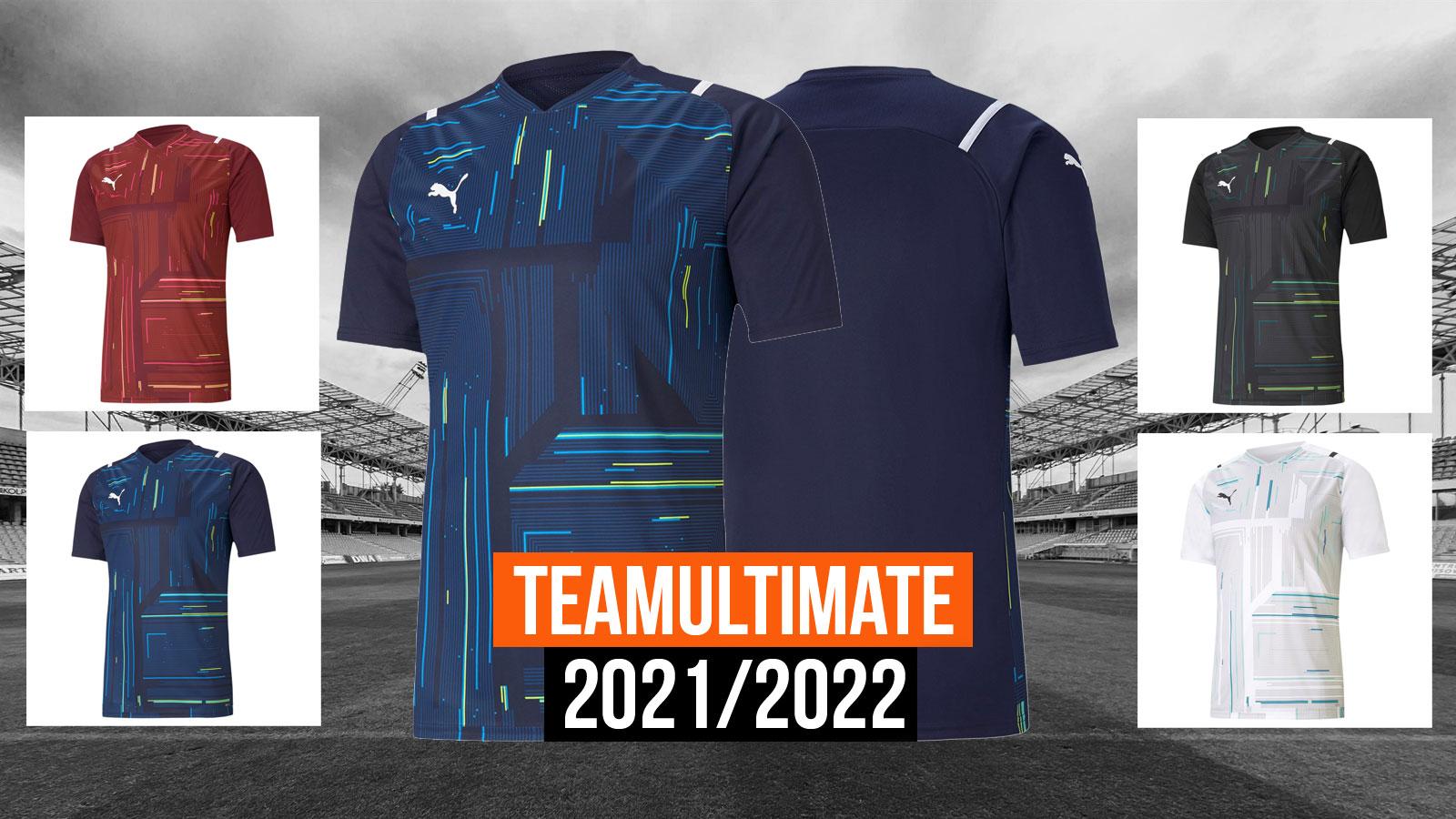 Das Puma teamUltimate Trikot für die Saison 2021/2022