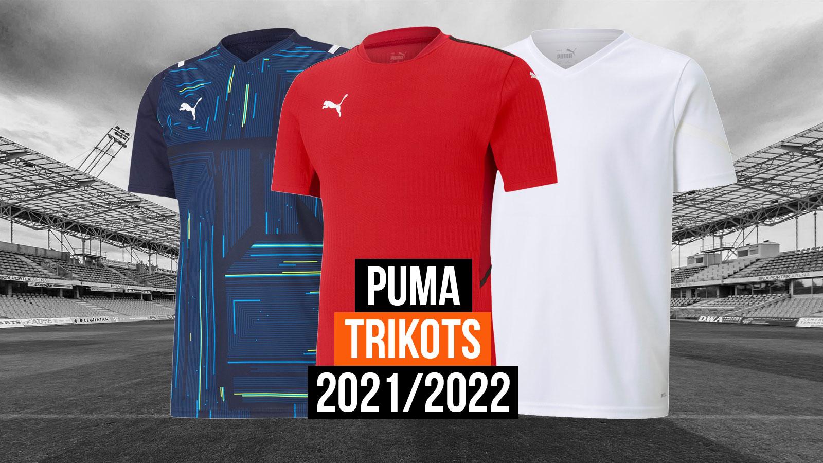 das Puma Trikots 2021/2022 aus dem Teamsport Katalog