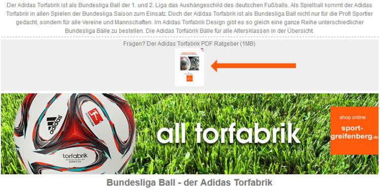 Bundesliga Spielball kaufen