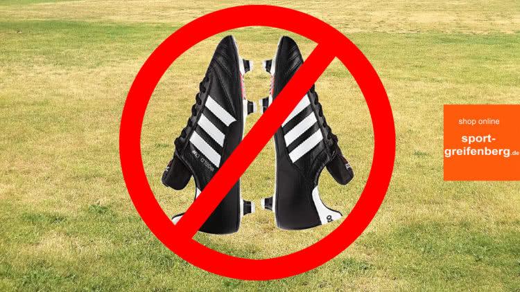 Kann man Alu Stollenschuhe auf dem Rasen tragen