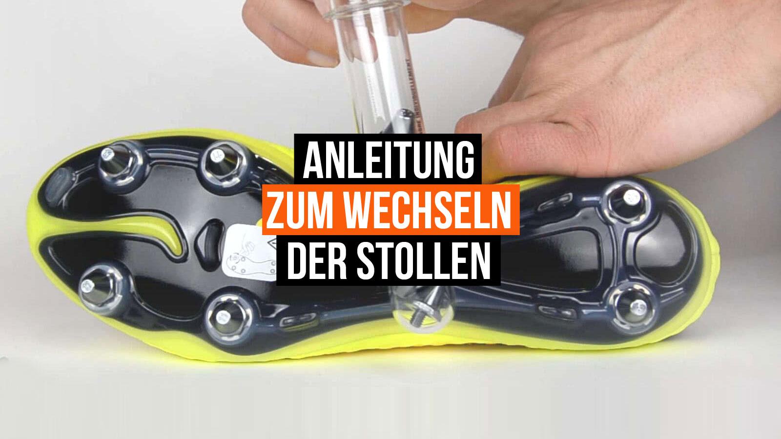 neue hohe Qualität Beste Herbst Schuhe Tipps: Fußballschuhe Stollen wechseln - Sportartikel und ...