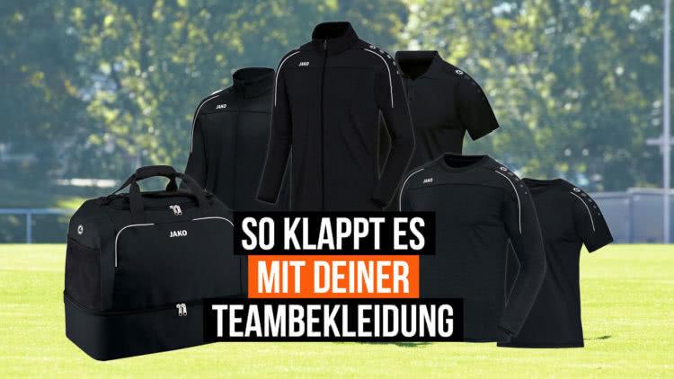 So kannst du die Beste Teambekleidung bestellen die du je hattest