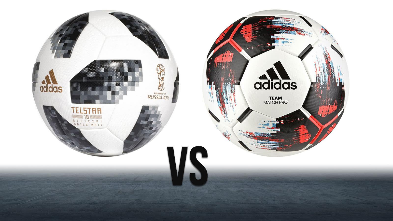 Der adidas Team Match Pro im Vergleich zum adidas Telstar und Finale
