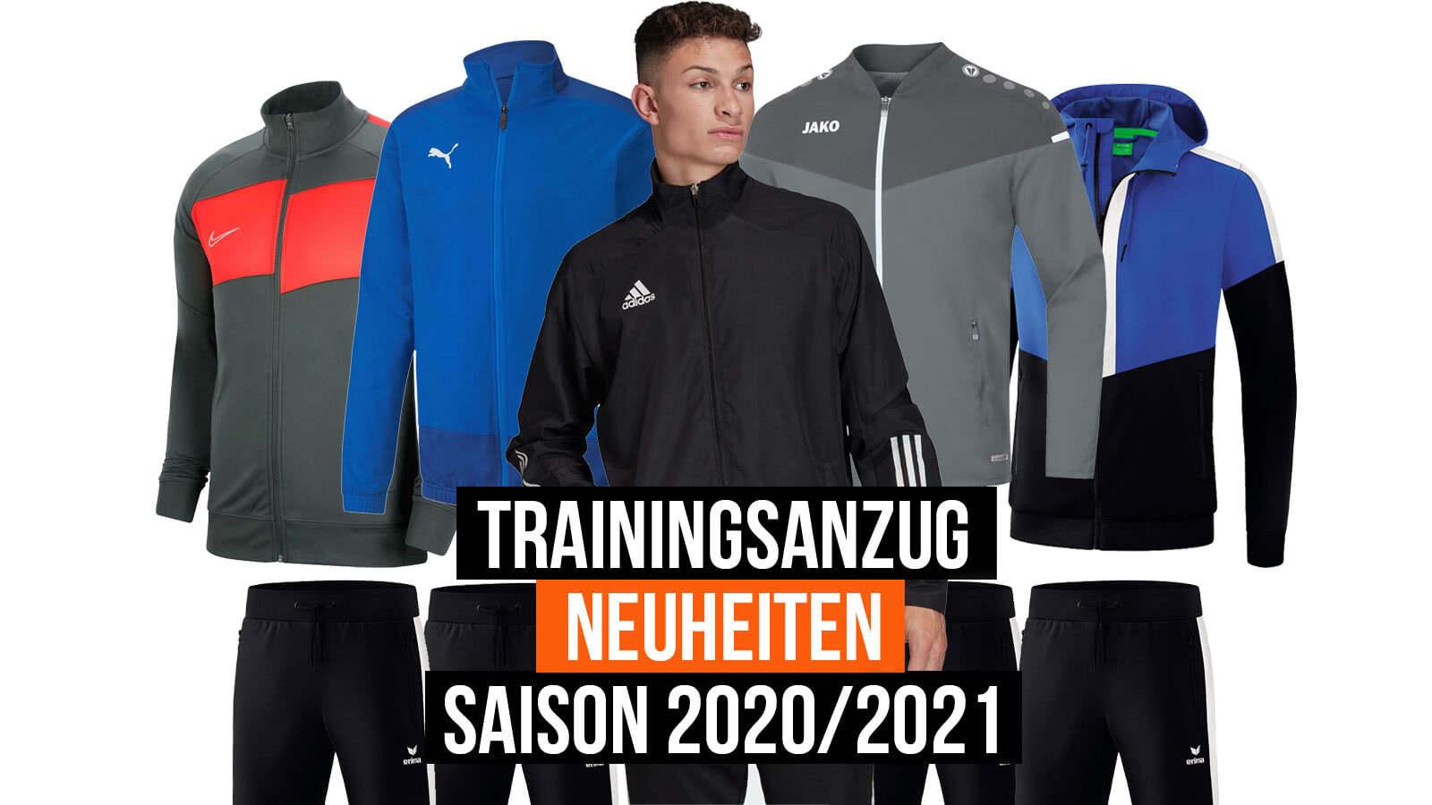 Die Trainingsanzüge für 2020 und 2021