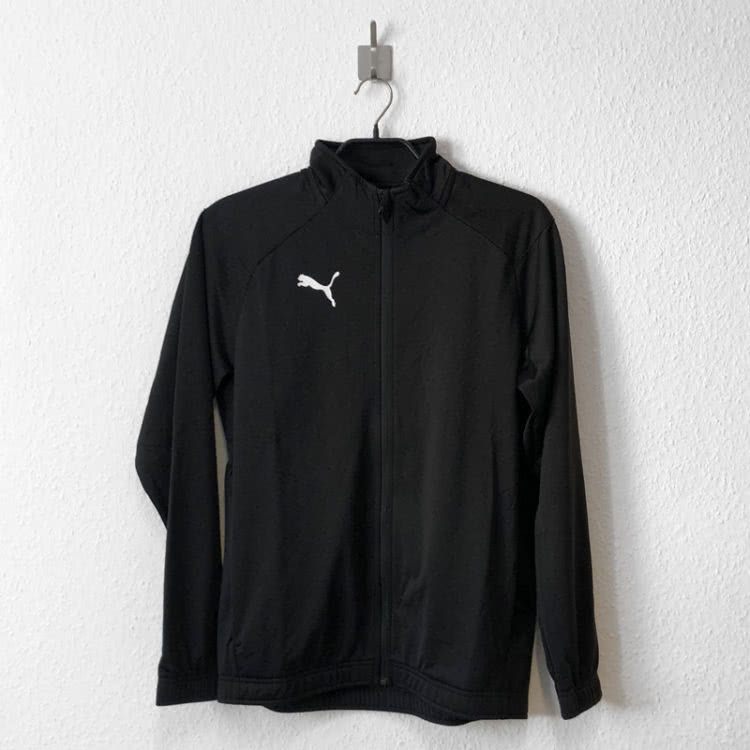 Die Puma Trainingsjacke zum Trainingsanzug