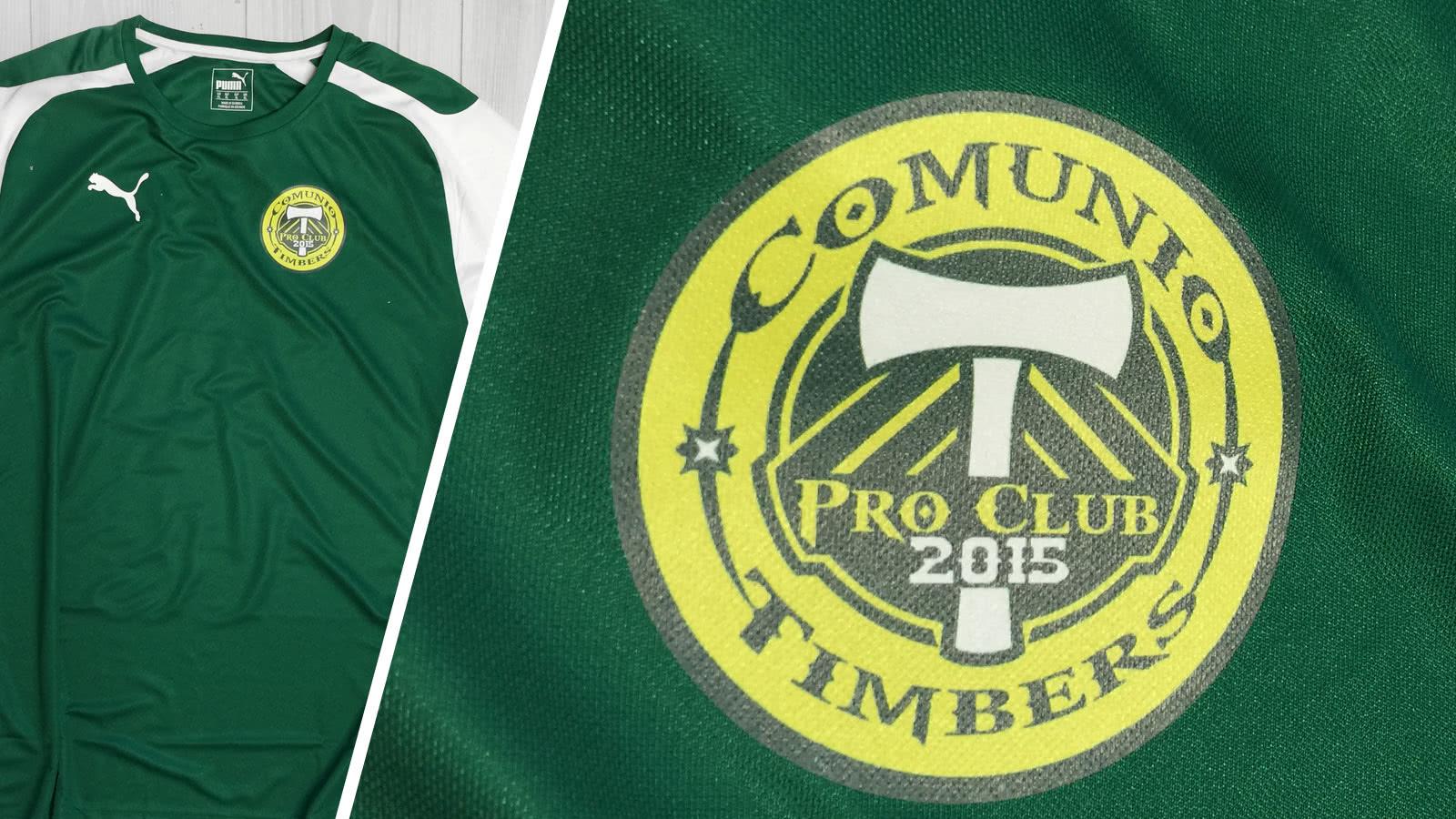 Der Puma Trikot Druck Comunio Timbers