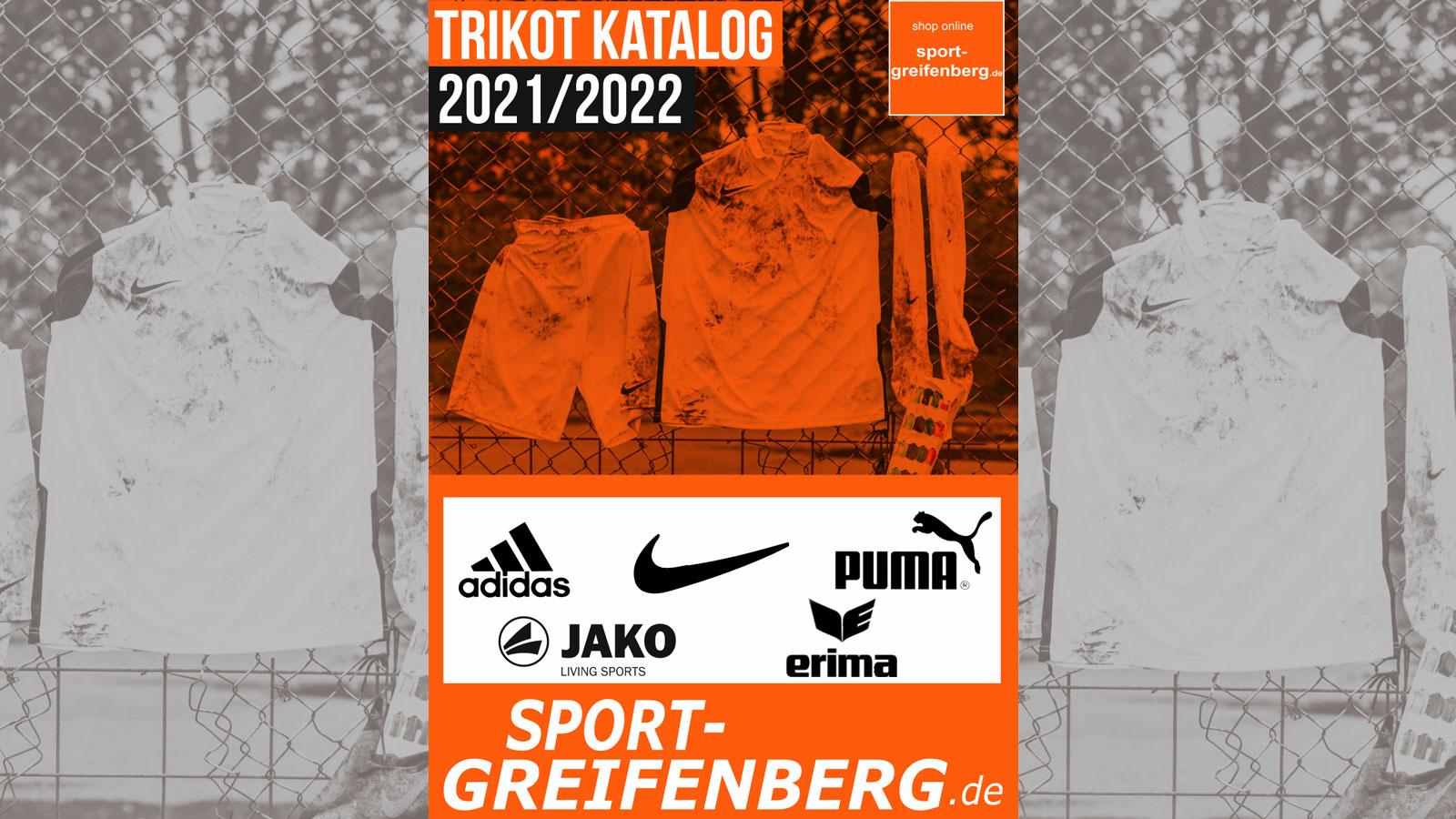 Der Trikot Katalog 2021/2022 als PDF für alle Marken