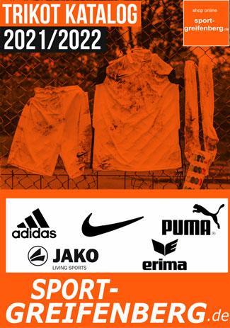 Trikot Katalog von adidas, nike, puma und Jako