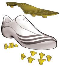 Adidas F50.7 Tunit Leder Upper Schwarz: : Schuhe