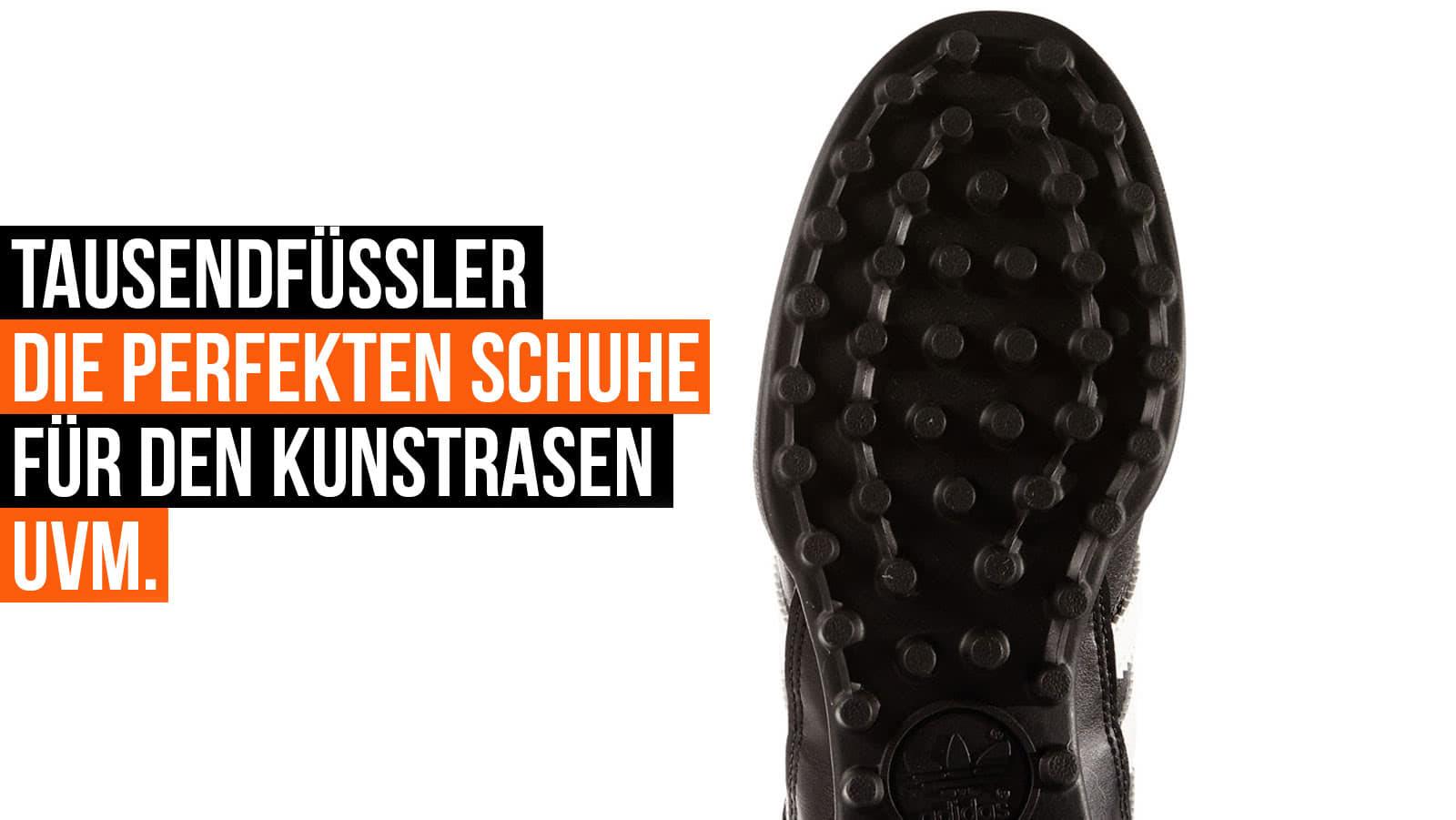 Was sind Tausendfüßler Fußballschuhe und wo trägt man die Schuhe