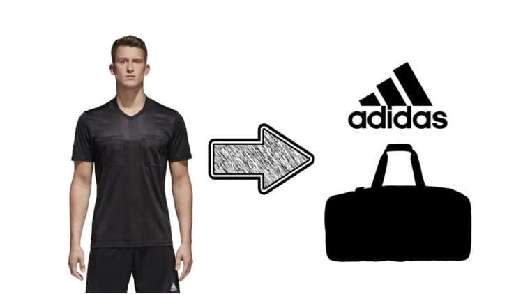Die adidas Schiedsrichter Tasche als Sporttasche und Referee Bag