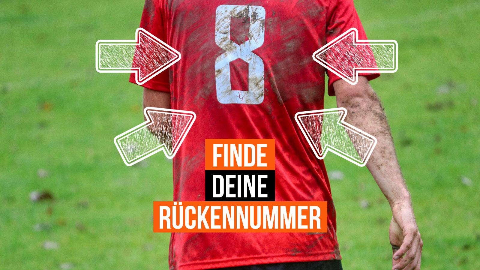 welche Rückennummer passt zu mir (Fußball Trikots mit Nummern)