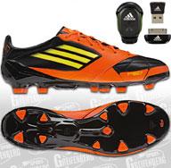 Die Adidas F50 adiZero 2 TRX FG Leder Fußballschuhe in der miCoach Bundle bestellen