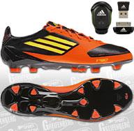 Als Fussballschuhe Adida F50 adiZero 2 miCoach Bundle TRX FG Fußballschuhe aus Sprintskin