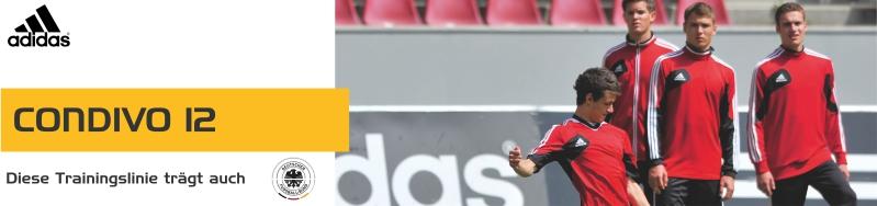 Die Sportartikel und Sportbekleidung der Adidas Condivo 12 Teamsport Linie