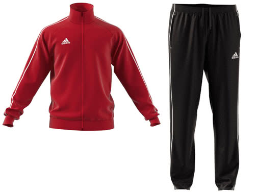 Dn adidas Core 18 Polyesteranzug und Sportanzug im Teamsport Shop günstig kaufen