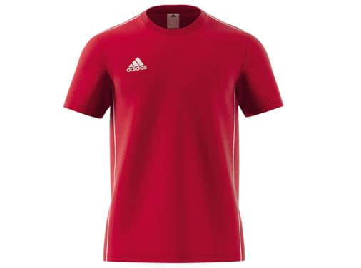 Die adidas Core 18 Tee als Baumwolle T-Shirt im Sportartikel Versand günstig kaufen