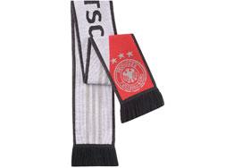 Der Adidas DFB Schal der WM 2014 als Fanartikel der deutschen Nationlmannschaft